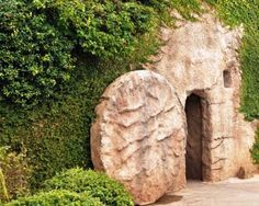 Jesus' tomb in the Holy Land. I will make it to the Holy Land one day!