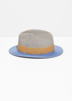c81212486fad3 And other stories Straw Fedora Hat