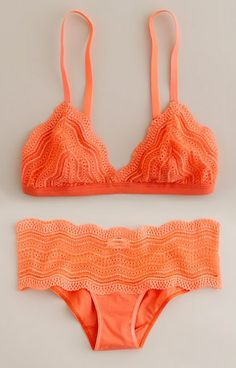 Coral swimsuit... I love this!