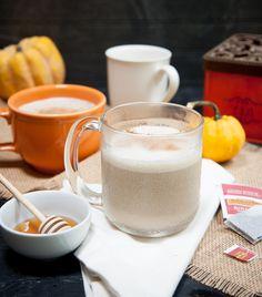 vanilla honey chai tea latte! yuuuuuum