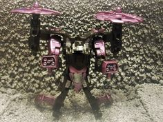 CUSTOM TRANSFORMERS GENERATIONS PRIME HELICOPTER DECEPTICON VEHICON #Hasbro