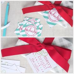 Square Gift Tags by MeredithColliePaper | Hatch.co