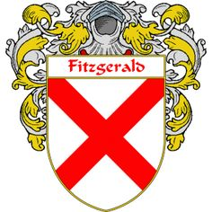 Fitzgerald Coat of Arms  http://irishcoatofarms.org/ has a wide variety of products with your surname with your coat of arms/family crest, flags and national symbols from England, Ireland, Scotland and Wale