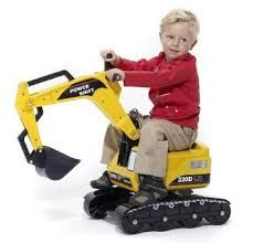Image result for toy metal digger