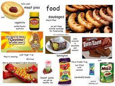 Aussie food for real Australian Memes, Aussie Memes, Australian Icons, Australian Food, Australian Recipes, Australia Funny, Australia Day, Brisbane Australia, Aussie Food