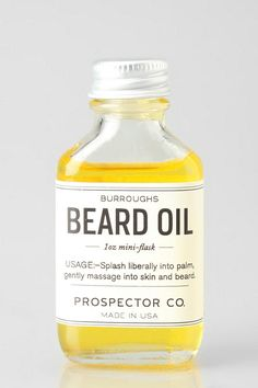 beard oil / prospector's co.