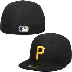 372a15c5149 New Era Pittsburgh Pirates Infant Black My 1st 59FIFTY Fitted Hat Pirates  Baseball
