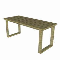 DIY plans to build a Simple Outdoor Dining Table with just a drill, pocket hole jig and a saw. You can do it! Start building today! Do It Yourself Furniture, Diy Furniture Plans, Outdoor Dining, Dining Bench, Hall Tree Bench, Workbench Plans, Table Plans, Woodworking, Pocket Hole