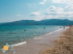 Green Mountain, Thessaloniki, During The Summer, Greece, Europe, Mountains, Beach, Water, Places