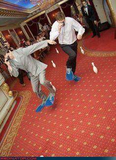 Funny Wedding Photos - Best Reception Ever?!