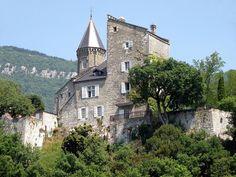 Chindrieux Château de Châtillon 1 - Château de Châtillon (Savoie) — Wikipédia