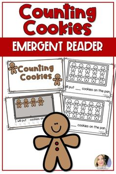 Digital Christmas Emergent ReaderThese holiday math emergent books are designed to help students practice reading and math skills at the same time! These mini books are great for distance learning in December since they have Google Slides and Seesaw versions included! Sight word-based makes them perfect to use in math or guided reading! Great for Preschool, Kindergarten and First Grade! Gingerbread | Christmas Cookies | Reindeer