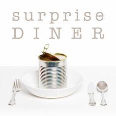 Design Invitation Diner / Uitnodiging etentje by OTTI www.kaartje2go.nl