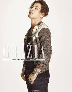 Taeyang for Grazia Korea
