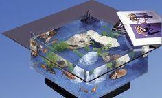 Midwest Tropical 675 Aqua Coffee Table Aquarium (035025006751)