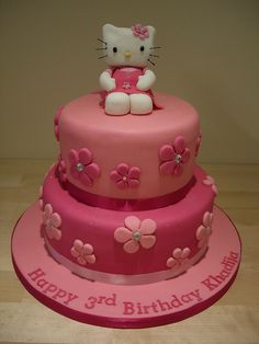 hello kitty cakes - this is too cute!!! Would love this for Ts bday!