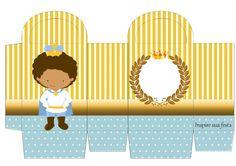 Príncipe Afro: Cajas para Imprimir Gratis.