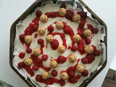 Giotto Himbeer Käsekuchen Raspberry, Fruit, Food, Giotto, Meal, The Fruit, Essen, Hoods, Raspberries