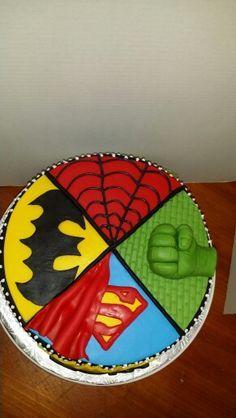Image result for super hero cake