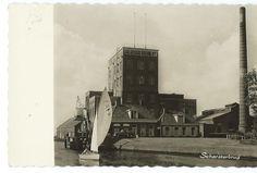 Fabriek en open brug 1968