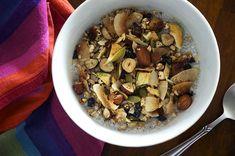 Apple and Hazelnut Gluten Free Granola - Homespun Capers