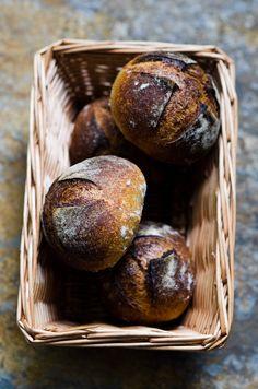 Apple sourdough bread rolls
