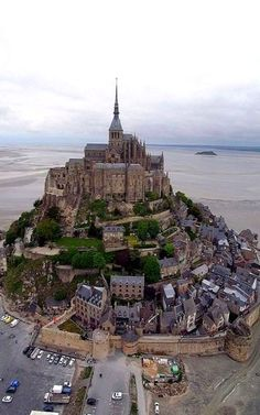 Mont Saint-Michel, Normandy, France | Photo by Pierre Lesage