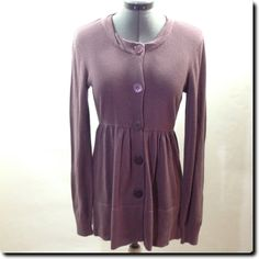 Daisy Fuentes Purple Sweater Dress small - NWT