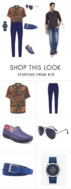 """""""Day image"""" by lanalotos on Polyvore featuring Gucci, Topman, Stacy Adams, Robert Graham, Express, men's fashion and menswear"""