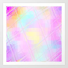 #Re-Created #Twisted SQ L #Art #Print  by #Robert #S. #Lee  - $18.00