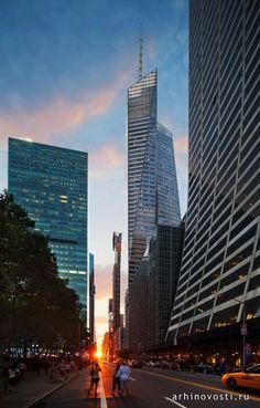 Башня Банка Америки (Bank of America Tower), которая находится на улице Брайант Парк 1 (One Bryant Park), Нью-Йорк, США, является первым небоскрёбом, получившим Платиновый сертификат LEED. Можно считать, что специалисты из архитектурной компании Cook+Fox Architects разработав проект этого небоскрёба,...