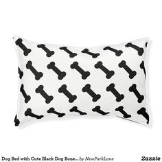 Black And White Dog, White Dogs, Pet Gifts, Pet Shop, Dog Bed, Cuddling, Your Pet, Plush, Cute