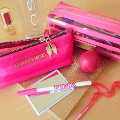 Image about pink in Just girly things by Леля Victoria Secrets, Victoria Secret Outfits, Perfume Victoria Secret, Baby Pink Aesthetic, School Accessories, Cute School Supplies, Accesorios Casual, Pink Nation, Posh Girl