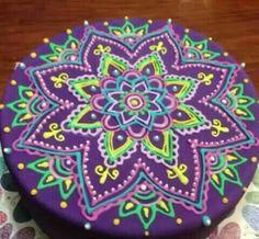 Selbst gezeichnet von einem Mandala.