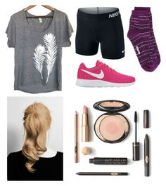 """""""My Tumbling Outfit"""" by ashleyannmcd ❤ liked on Polyvore featuring NIKE, Uzura and M Missoni"""