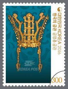 Golden Crowns of Korea, September 21, 2016, Gold Crown from Geumnyeongchong Tomb, 한국의 금관, 2016년 9월 21일, 금령총 금관