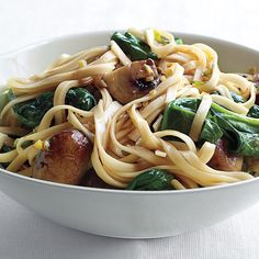 Use rice noodles and swap tamari for soy sauce for a gluten-free version of this nourishing supper.