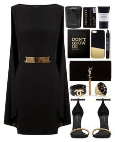 """Untitled #428"" by tacoxcat ❤ liked on Polyvore featuring Lipsy, Yves Saint Laurent, Rosantica, JFR, Chanel, Rituals and Lord & Berry"
