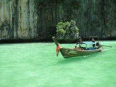 Legendary Thai boat