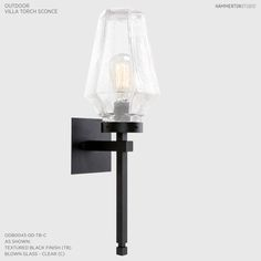 Reinterpreting old-world lantern silhouettes, Chilled Glass outdoor  fixtures offer a timeless yet relevant look that suits a wide range of  architectural styles. Each is hand blown by Hammerton artisans,ships in  4-5 weeks, and is guaranteed to withstand the harshest climate conditions.