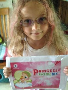 Amblyopia Kids Network | Adventures in Amblyopia (Lazy Eye): Amblyopia Kids checks out the Amblyopia Patch Kits from the Children's Eye Foundation
