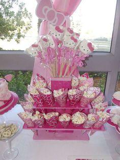 Hello Kitty Birthday Party Ideas | Photo 19 of 31 | Catch My Party