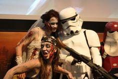 Zombie meets Star Wars Blog, Halloween Face Makeup, Star Wars, Stars, Pictures, Blogging, Sterne, Starwars, Star
