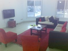 very good opportunity in SHWIFAT , NEW CAIRO FOR RENT ( FULLY OR SEMI ). Real Estate Egypt, Cairo, New Cairo City/Katameya, Choueifat, Super Lux, Furnished,SemiFurnished Apartments for Rent, Divided into 3 BedroomsNo,3 Bathrooms  Flooring :Porcealine HDF Other ()www.maadionline.com