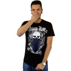 T-shirt Thug Life TLS13TS12 black