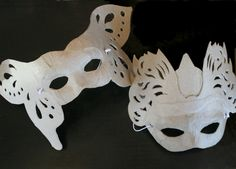 Recycled Paper Masks