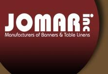 Jomar, Inc.: Manufactures of Banners and Table Linens