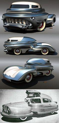 Sir-Vival concept car, 1958,