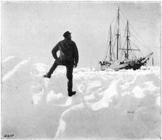 Monday, April 30th. Drifting northward. Yesterday observations gave 80° 42′, and to-day 80° 44½′. The wind steady from the south and southeast.  From Farthest North: Being a Record of a Voyage of Exploration of the Ship Fram, 1893-96, and of a Fifteen Months' Sleigh Journey, by Dr. Fridtjof Nansen & Lt. Johannsen  +