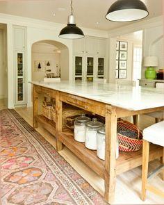 Come riciclare tavolo soggiorno EUCLIDE per sala da pranzo, lampade a sospensione, cestino in rafia tiger